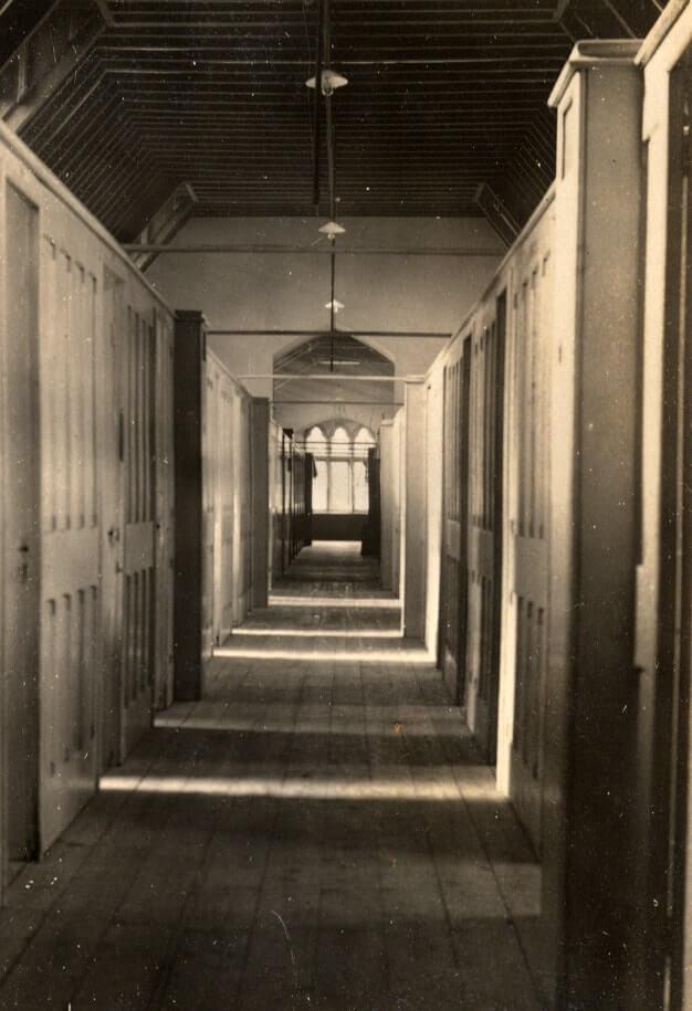 Francis Close Hall Dorm Corridor