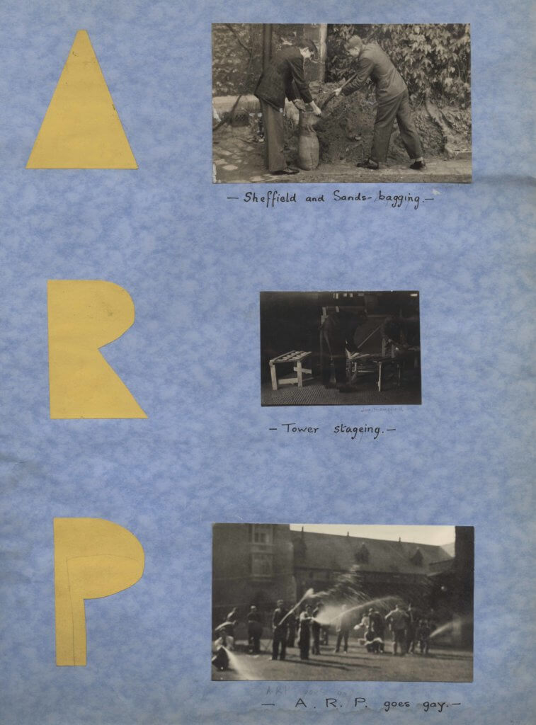 ARP photos from a college yearbook 1940-1941