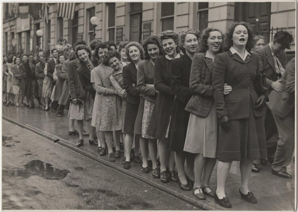 VE Day 8 May 1945