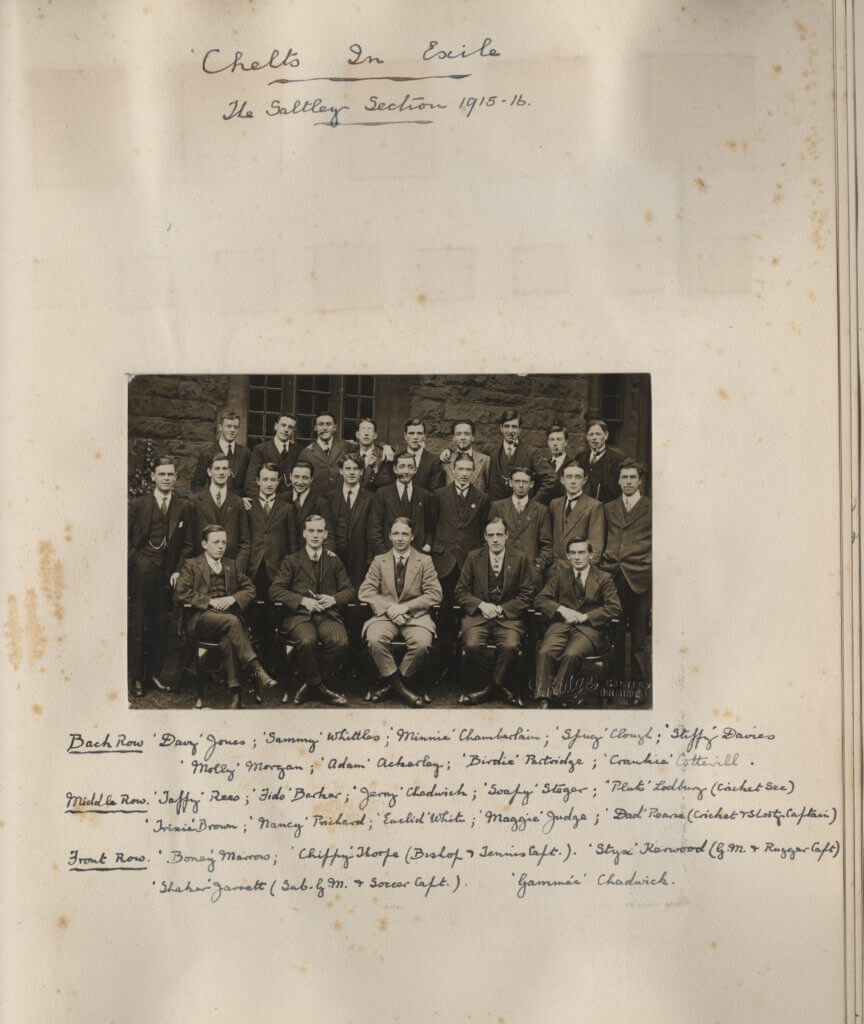 Saltley students 1915-1916
