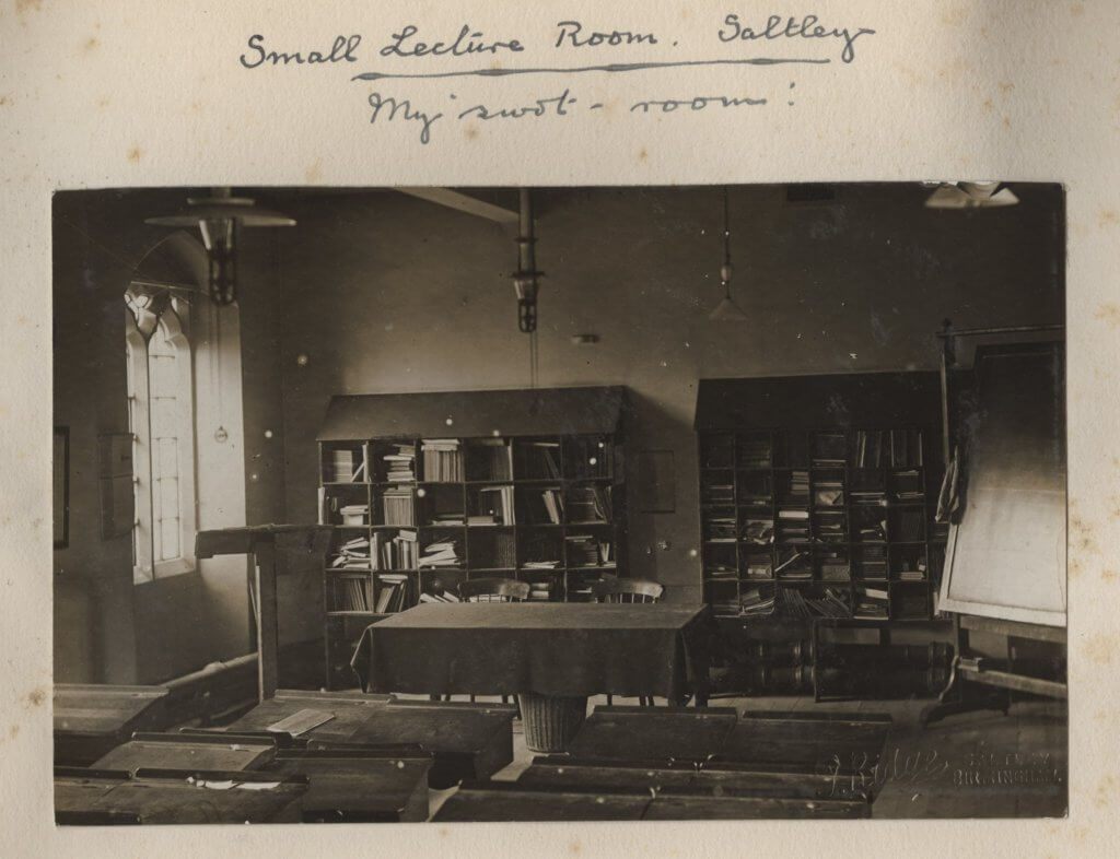 Small lecture room Saltley c1915