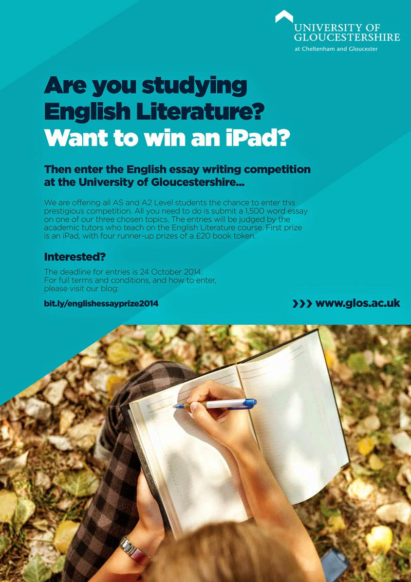 english literature announces the english essay competition for sixth  english literature announces the english essay competition for sixthform  and fe students