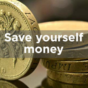 Save yourself money
