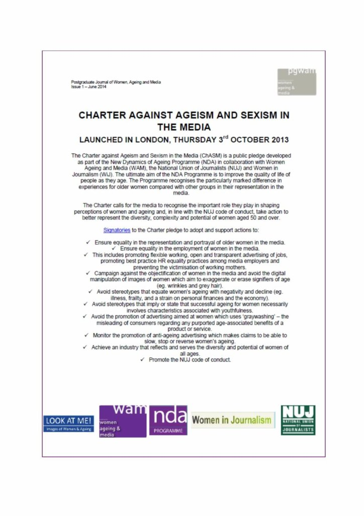 Charter Against Ageism
